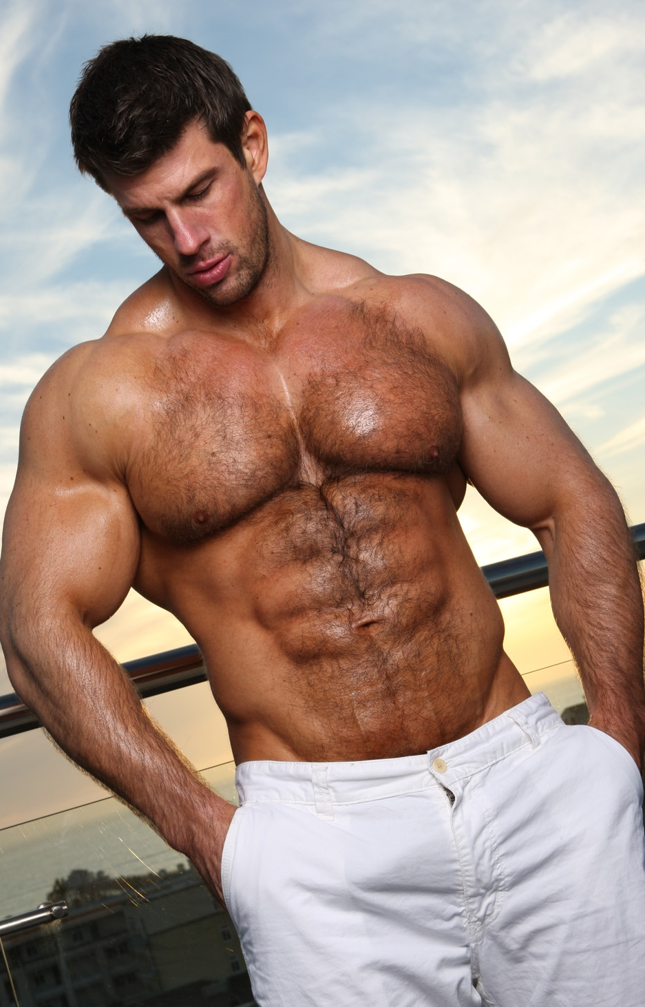 from Cristopher gay man masculine muscular