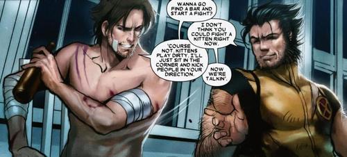 """Logan """"Wolverine"""" - Marvel Revolution MUCK X 23 Gambit"""